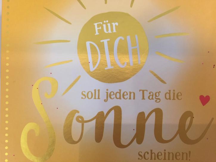 WUNSCHERFÜLLER Soundbox 1 Stück Für dich soll jeden Tag die Sonne ...