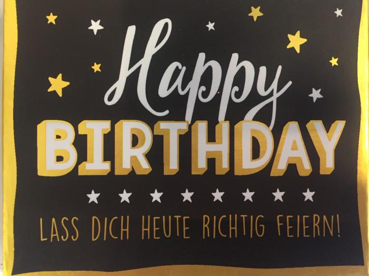 WUNSCHERFÜLLER Soundbox 1 Stück Happy Birthday Lass dich heute richtig..