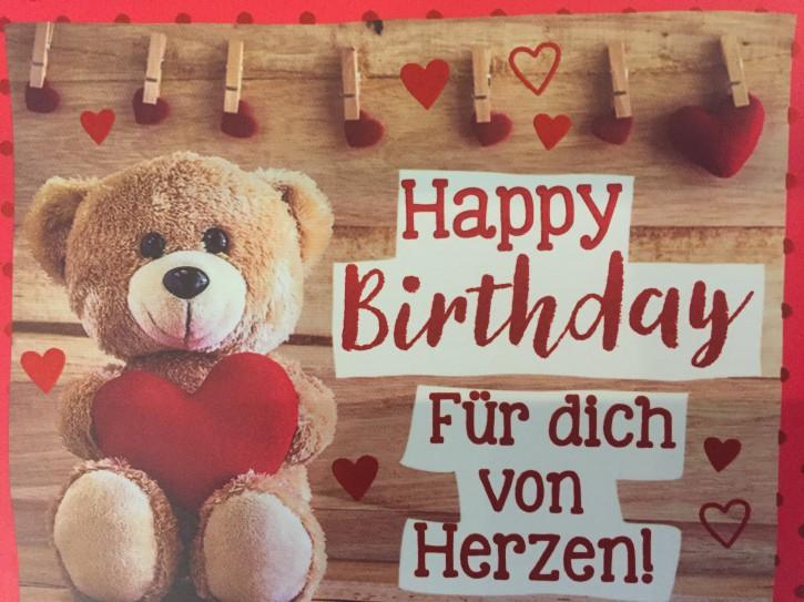 WUNSCHERFÜLLER Soundbox 1 Stück Happy Birthday Für dich von Herzen!
