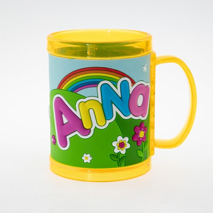 John Hinde Namensbecher für Kinder Name Anna