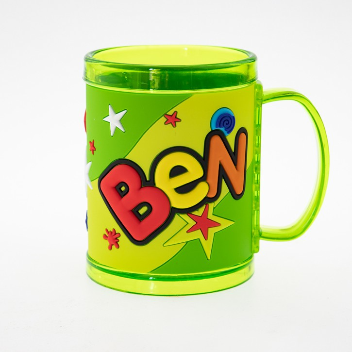 John Hinde Namensbecher für Kinder Name Ben