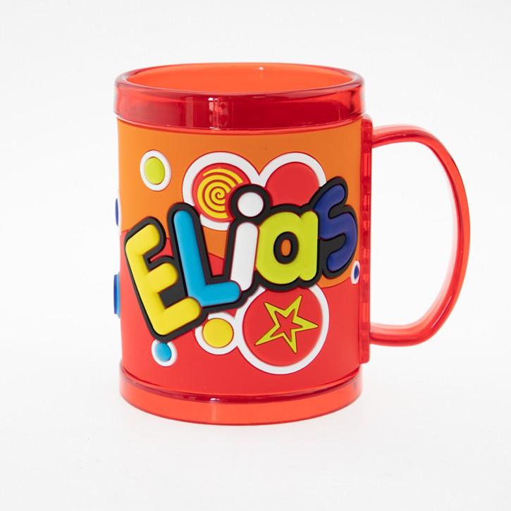 John Hinde Namensbecher für Kinder Name Elias