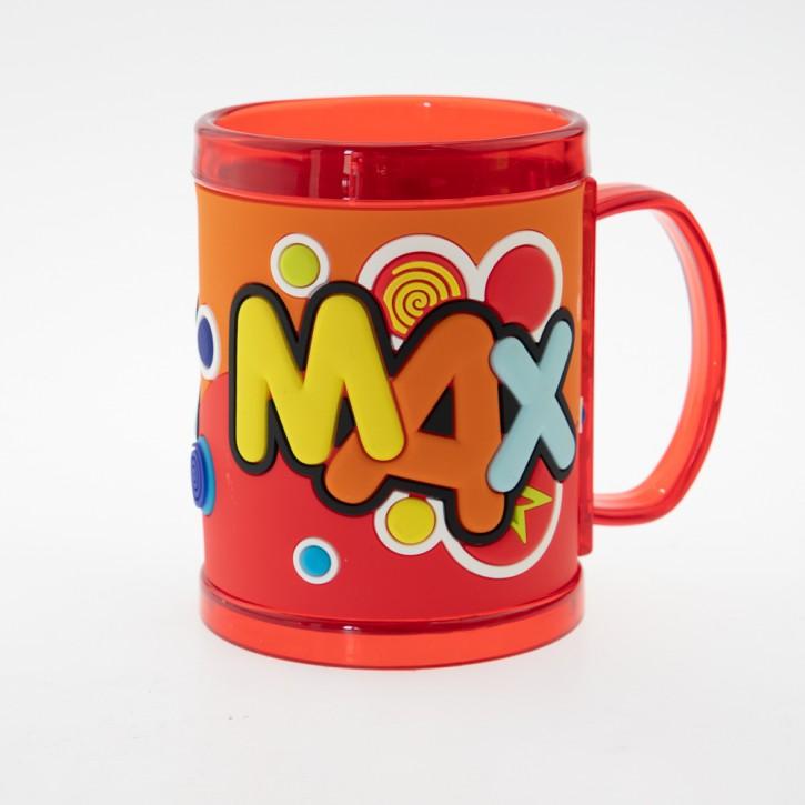 John Hinde Namensbecher für Kinder Name Max