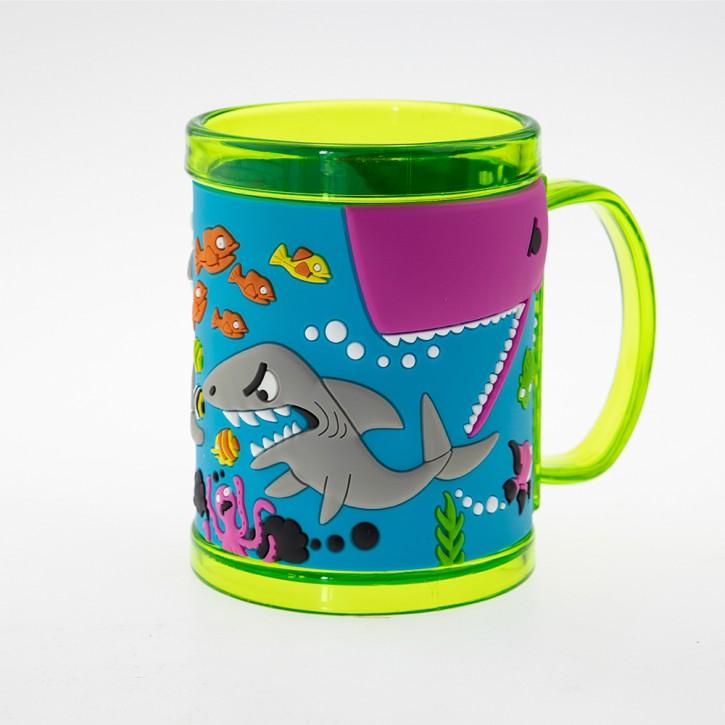 John Hinde Namensbecher für Kinder - Haie