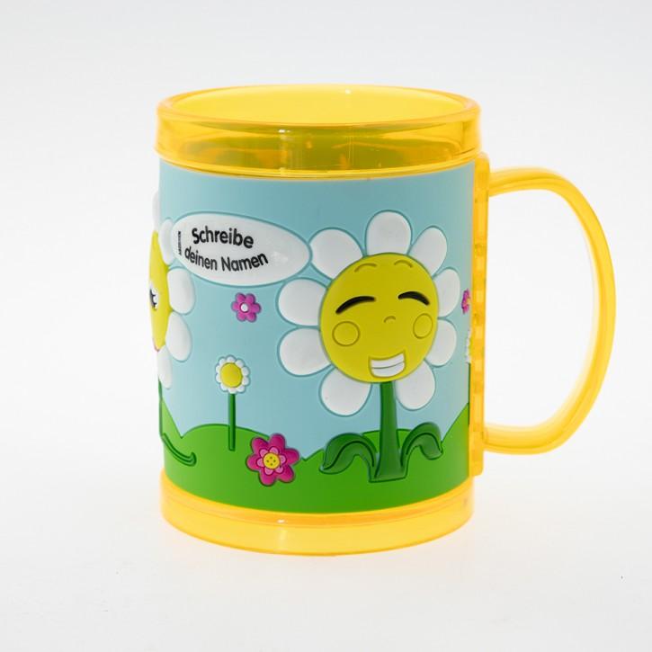 John Hinde Namensbecher für Kinder - Sonnenblumen