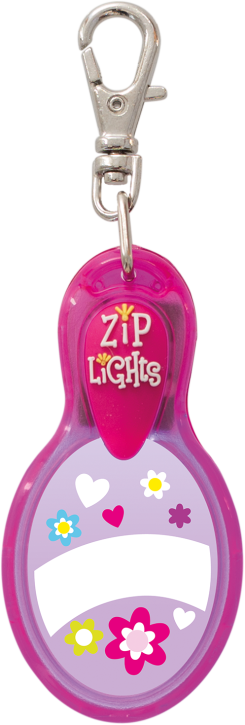 John Hinde Zip Light Blanko Pink