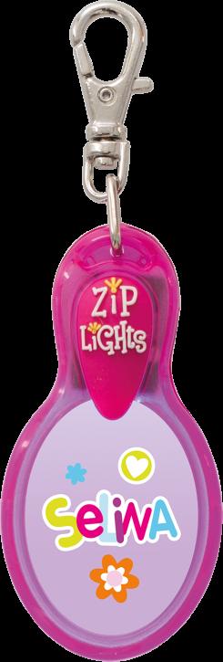 John Hinde Zip Light mit Namen Selina