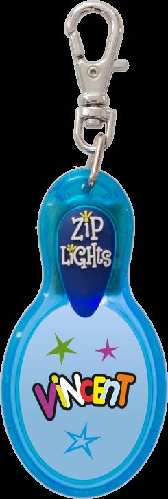 John Hinde Zip Light mit Namen Vincent