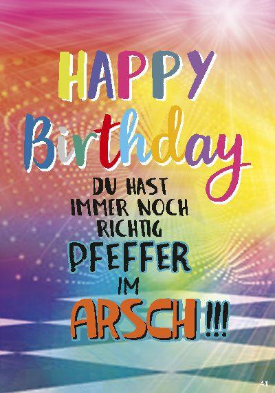 Musikkarten mit Überraschung 041 Happy Birthday Du hast immer noch r...