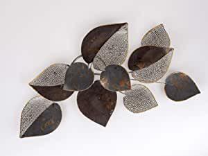 Formano Wanddeko Metall Bätter 62 x 40 cm 1 Modell 672742