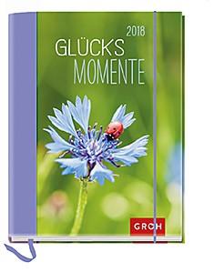 Groh Buchkalender Glücksmomente 2018 Terminplaner