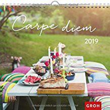 Groh Wandkalender 2019 Carpe diem