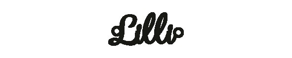Versilbertes Armband mit Namen Lilli
