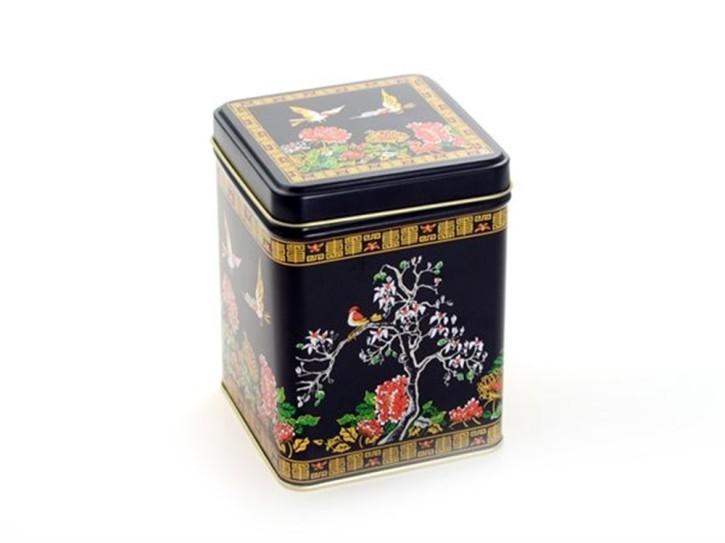 Dose Teedose Serie Magnolia eckig 11,8cm