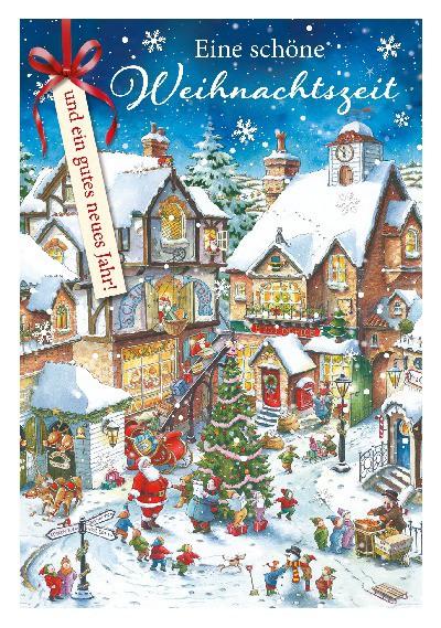 Depesche 3D Weihnachtsklappkarte 033 Eine schöne Weihnachtszeit und ein ...