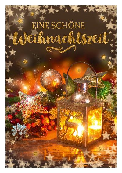 Depesche 3D Weihnachtsklappkarte 041 Eine schöne Weihnachtszeit