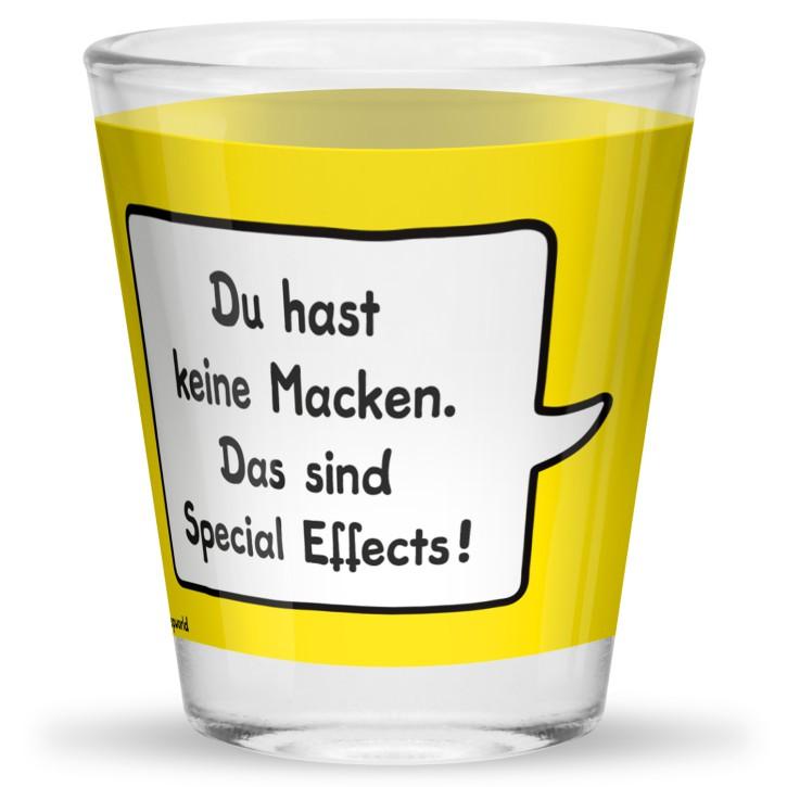 Sheepworld Gruss und Co 1 Schnapsglas mit Spruch Macken