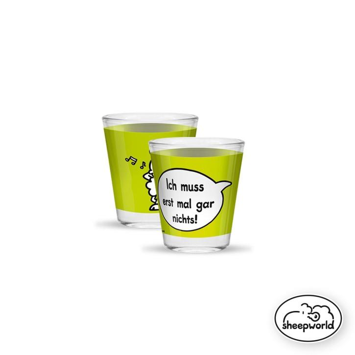 Sheepworld Gruss und Co 1 Schnapsglas mit Spruch Nichts