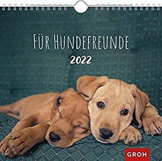 Groh Wandkalender Hundekalender 2022 mit Monatskalendarium für Hundeliebhaber