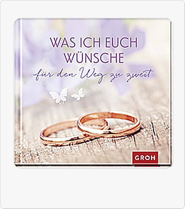 Geschenk Buch zur Hochzeit Was ich euch wünsche