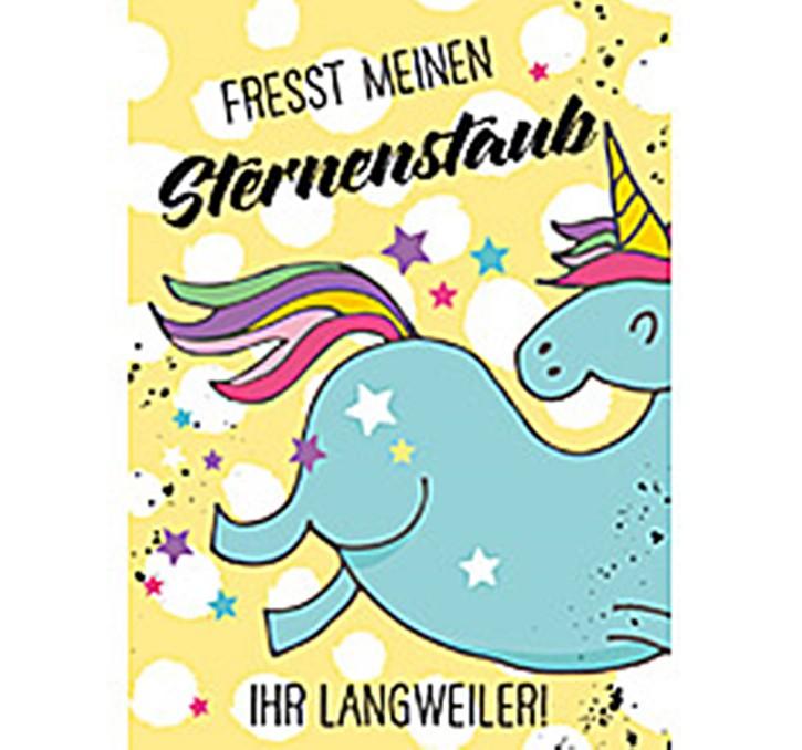 Fresst meinen Sternenstaub ihr Langweiler! - Magnet