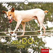 Groh Wandkalender 2019 Just do it