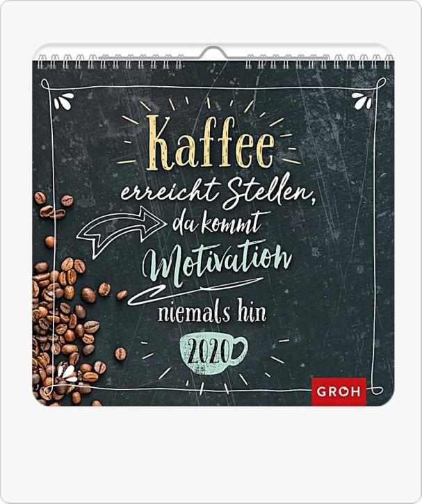 Groh Wandkalender 2020 Toller Kaffee-Wandkalender im Handlettering-Stil