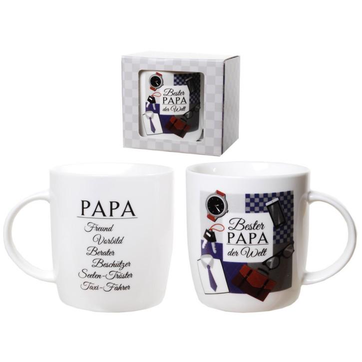 Porzellan Becher Bester Papa