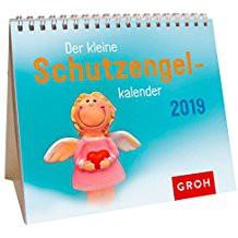 Groh Mini-Kalender 2019 zum Aufstellen Der kleine Schutzengelkalender
