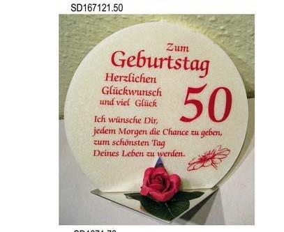 Geschenk Kerze zum 50. Geburtstag Artikel SD167121.50