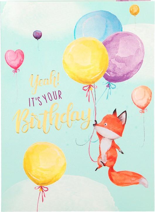 Depesche Portofino Klappkarten Geburtstagskarten 016- Yeah! It's your Birthday!