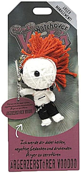 Watchover Voodoo Sammel Puppe mit Spruch Ärgerzerstörer
