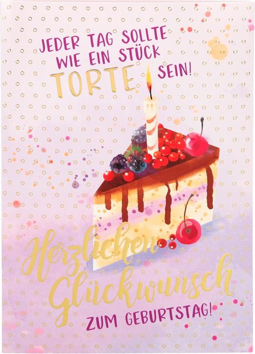 Depesche Portofino Klappkarten Geburtstagskarten 009- with Love