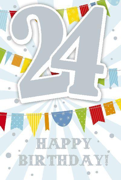 Depesche Zahlenkarten mit Musik 24 Happy Birthday!
