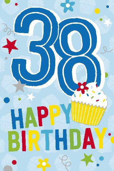 Depesche Zahlenkarten mit Musik 38 Happy Birthday