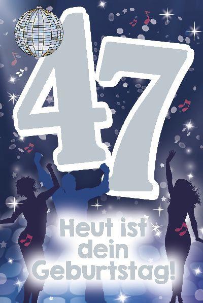 Depesche Zahlenkarten mit Musik 47 Heut ist dein Geburtstag!