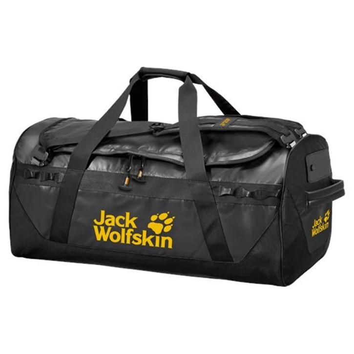 Große robuste Reisetasche mit Schultergurten EXPEDITION TRUNK 65 black