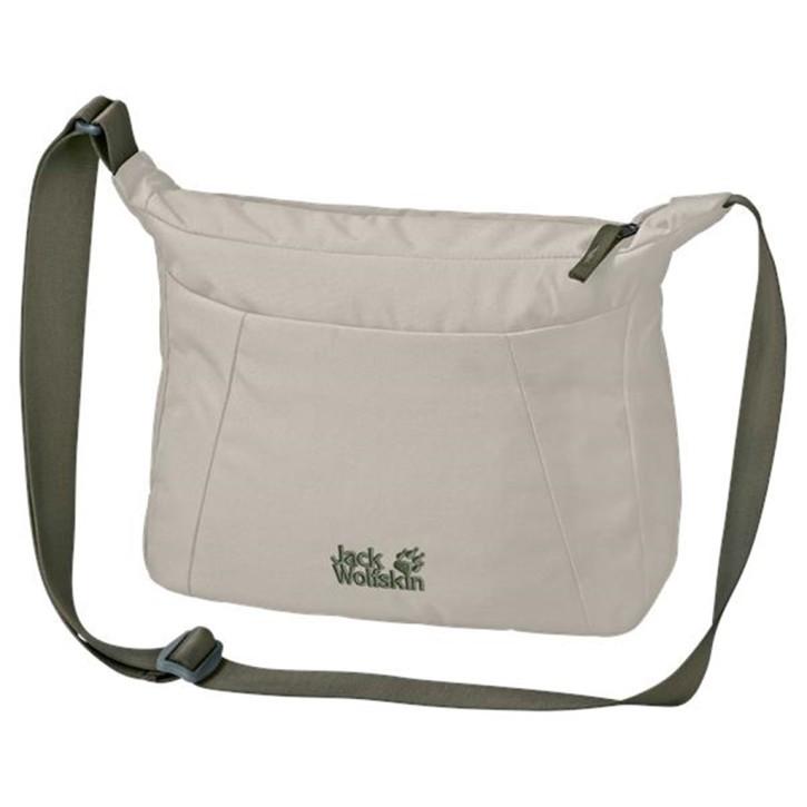 Jack Wolfskin VALPARAISO BAG dusty grey sportliche Umhängetasche Schultertasche Damentasche