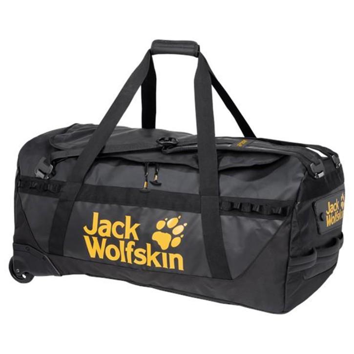 Rollenreisetasche sehr große besonders robuste und wasserabweisende Reisetasche mit Rollen EXPEDITION Roller 130 black