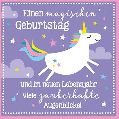 Musikschachtel 5580-020 Einen magischen Geburtstag und im neuen.