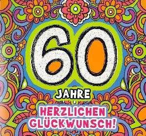 Geburtstagskarte mit musik zum 60