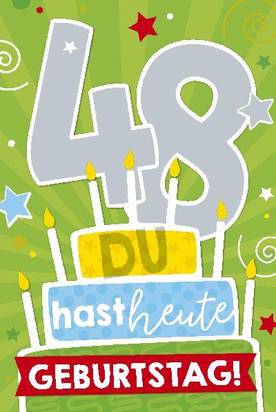 Musikkarten Geburtstag 48 Du Hast Heute Geburtstag