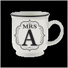 H&H Becher Mrs A   - für Hochzeit, Jubiläum und Jahrestag