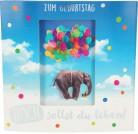 Geburtstagskarte Klappkarte 3D mit Musik & Licht Zum Geburtstag Hoch sollst du leben!