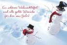 Lustige Weihnachtskarte 8634-004