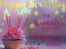 WUNSCHERFÜLLER Soundbox 1 Stück Happy Birthday Ein Wunsch soll in...