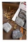 Kinder-Filzbörse Kleine Geldbörse Klippverschluß mit Spruch und Motiv Pferd sortierter Artikel Lieferumfang 1 Stück