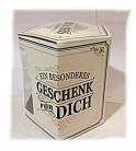 H&H Geschenkverpackung Einzelbox für Becher Serie Mr oder Mrs