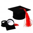 Geschenkverpackung Studentenhut für eine bestandene Prüfung