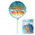 Ballon zur Jugendweihe, 3-tlg., selbstaufblasend